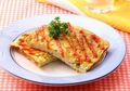 Resep Membuat Omelet Macaroni and Vegetables, Sarapan Praktis dengan Rasa Dua Jempol