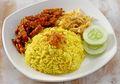 Resep Nasi Kuning Komplit, Tak Perlu Repot Menyajikan Sarapan Nikmat