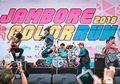 Meriahnya Sheila on 7 Ikut Acara Jambore Color Run 2018, Pecah Deh!