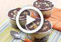 (Video) Resep Membuat Dessert Box Kekinian dengan Resep Brownies Durian Cup Ini