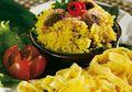 Resep Masak Nasi Kuning Serundeng Daging, Sarapan Jadi Makin Enak!