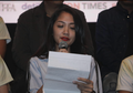 Isak Tangis Istri Saat Bacakan Surat Augie Fantinus pada Press Screening Film Lagi-Lagi Ateng