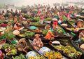 Pasar Lok Baintain, Pembeli dan Penjual Mesti Mengikuti Aliran Sungai Martapura