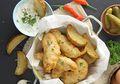 Resep Membuat Fish And Chip With Tartar Sauce, Olahan Ikan Enak Ala Cafe Yang Mudah Ditiru