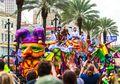 Mardi Gras, Parade Pertunjukan Gratis Terbesar di Amerika Serikat