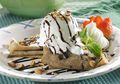 Resep Membuat Crepe Es Krim dan Saus Cokelat, Pas Untuk Camilan Praktis Malam Ini