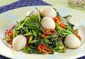 Resep Masak Cah Bayam Telur Puyuh, Menu Pelengkap Yang Kaya Gizi