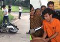 Mengamuk Hancurkan Motor Tapi Menangis Ditangkap Polisi,  Adi Saputra Ternyata Pedagang Kopi Keliling