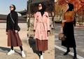 Ini 8 Cara Selebgram HIjab Pakai Rok Plisket atau Pleated Skirt. Kece!