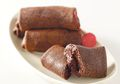 Resep Membuat Dadar Gulung Vla Cokelat, Kreasi Camilan Manis Di Malam Hari