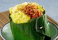 Resep Nasi Kuning Komplit: Nasi Bungkus Kuning Teri untuk Menu Istimewa Hari Minggu