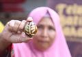 Membatik Tak Hanya di Atas Kain, Kini Telur Juga Bisa Digambar Motif Batik