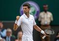 Novak Djokovic Rayakan Juara Wimbledon 2019 dengan Makan Rumput Lapangan