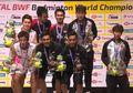 Kocak, Ganda Putra Indonesia Olok-olok Insiden Li Junhui di Kejuaraan Dunia 2019