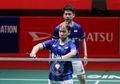 Reaksi Marcus Fernaldi dan Kim Astrup Saat Tahu Malaysia Open 2021 Ditunda