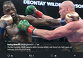 Link Live Streaming Deontay Wilder Vs Tyson Fury, Menanti Aksi Jagoan Mike Tyson!
