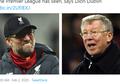 Juergen Klopp Nekat Bangunkan Sir Alex Ferguson Pukul 3 Pagi, Hanya Demi...