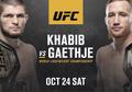 UFC 254 - Gaethje Bakal Hajar Khabib Pakai Serangan Brutal dan Sporadis
