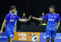 Thailand Open 2021 - Warna Rambut Fajar Alfian Jadi Sorotan Personel Duo Menara China