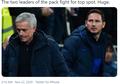 Chelsea Vs Tottenham - Mourinho: Lampard Tahu Kami Sulit Dikalahkan!
