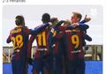 Tanpa Lionel Messi, Barcelona Susah Payah Lolos ke Final Piala Super Spanyol