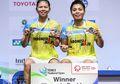 Juarai Thailand Open 2021, Greysia Polii/Apriyani Kantongi Hadiah Uang Bernilai Fantastis