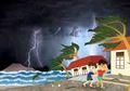 Anak Krakatau Meletus