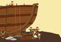 Afan Membangun Kapal