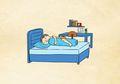 Suka Tidur Miring ke Kiri? Ternyata Ini Manfaatnya