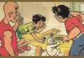 Paman Kikuk, Husin, dan Asta: Arung Jeram