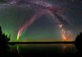 Berbentuk Seperti Pita Berwarna Ungu, Inilah Aurora Baru yang Bernama Steve