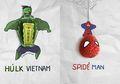 Ilustrasi Superhero dengan Gabungan Benda Sehari-hari Ini Bisa Kita Tiru, lo!