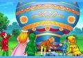Negeri Dongeng: Naik Balon Udara yang Ditiup Ratu Angin Barat
