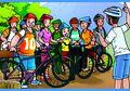 Paman Kikuk, Husin, dan Asta: Hilang Keseimbangan Saat Berwisata Sepeda