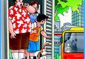 Paman Kikuk, Husin, dan Asta: Berebut Kursi di Bus