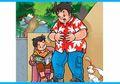 Paman Kikuk, Husin, dan Asta: Olahraga Skipping
