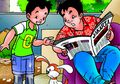 Paman Kikuk, Husin dan Asta: Sepatu Super