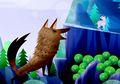 Serigala Tua dan Anak Kambing Cerdik