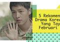 5 Rekomendasi Drama Korea Baru Yang Tayang Februari 2016