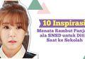 10 Inspirasi Menata Rambut Panjang Ala SNSD Untuk Ditiru Saat ke Sekolah