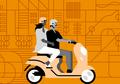 Berdasarkan Penelitian, Cewek Bisa Lebih Bahagia dengan Jalan-Jalan Naik Motor! Kok, Bisa?