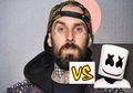 """EDM vs Punk! Liat Nih Video Travis Barker Lagi """"Drum Battle"""" Sama DJ Marshmello"""