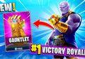 Wow, Kamu Kini Bisa Mendapatkan Infinity Gauntlet dan Berubah Jadi Thanos di Fortnite!