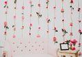 DIY: Dinding Penuh Bunga Untuk Dekorasi Rumah Saat Valentine