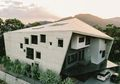 Berbatasan Langsung Dengan Hutan, Seperti Ini Wujud Desain Rumah 900M² yang Bermaterialkan Beton!