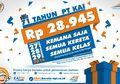 Ulang Tahun, PT KAI Gelar Tarif Promo Rp28.945 untuk Semua Kelas KA Jarak Jauh