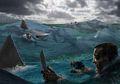 Selamat dari Terjangan Torpedo Jepang, 600 Pelaut AS Justru Tewas Akibat Terkaman Hiu Ganas dan Dinginnya Air Laut