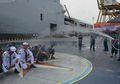 Prajurit TNI Angkatan Laut, Naik Pangkat Bukannya Diberi Bingkisan Malah Disemprot Air