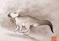 Arkeolog Inggris Berhasil Identifikasi Fosil Dinosaurus Herbivora Bertanduk