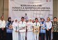 Peduli Pendidikan, Toyota Donasikan Ratusan Ribu Bahan Bacaan ke 400 Sekolah